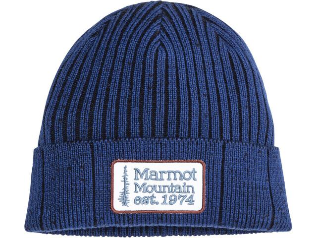 Marmot Retro Gorro Camionero, arctic navy/black